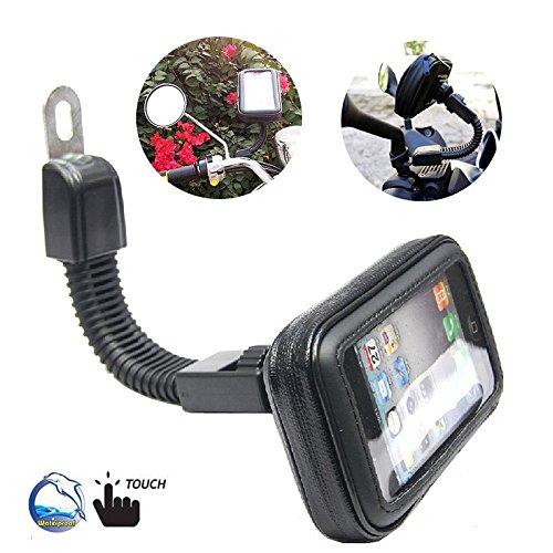 """Preisvergleich Produktbild BRAINWIZZ Support Motorrad / -Roller Wasserdicht mit Gelenkarm für iPhone 6 Plus (5, 5"""") / 77.8mm x 158.1mm"""