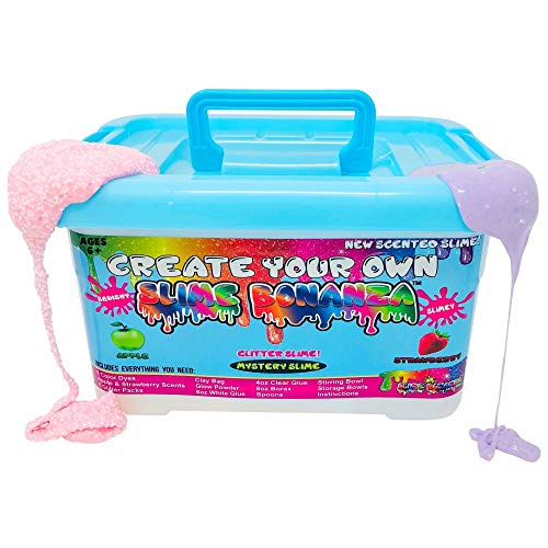 Slime Bonanza Slime kit for Boys and Girls 36pcs DIY Slime Making kit, just add Water!