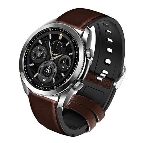 YQY Relojes Inteligentes con rastreador de Fitness con Ritmo cardíaco Monitor de presión Arterial Mensaje Notificación de Llamada IP67 Impermeable para Hombres para Mujeres para Android iOS,Plata