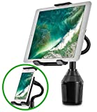 <span class='highlight'><span class='highlight'>EEEKit</span></span> Car Cup Holder Mount for Phone Tablet, 2-in-1 iPhone iPad Car Mount Adjustable Gooseneck Holder for all Smartphones and Tablets Universal