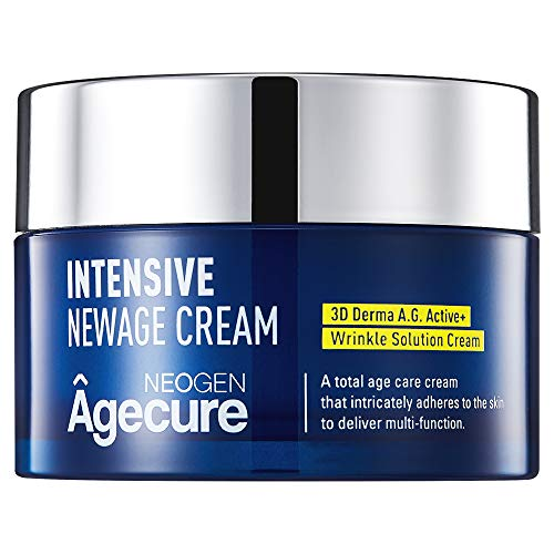 Skin Tightening & Lifting, Collagen Face & Neck Moisturizer by NEOGEN Agecure Skin Care I Day and Night Cream I 1.65oz
