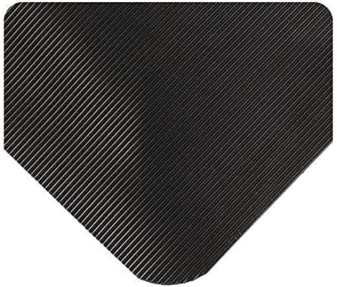 Inexpensive Wearwell Inc Black Corrugated SpongeCote 2 L W 54 Limited time cheap sale 1 ft. x
