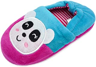 QGAKAGO Toddler Girls Slippers Cartoon Warm Winter Non-Slip House Slipper