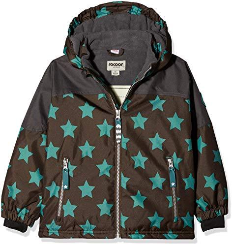Racoon Jungen Aslak Star Jacket Jacke, Braun (Chocolate Brown CHO), 110