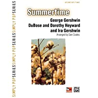 Summertime - Sheet Music - (George Gershwin, DuBose and Dorothy Heyward, Piano Solo - Intermediate)