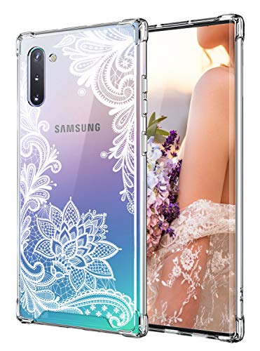 Cutebe Case for Galaxy Note 10, Shockproof Series Hard PC+ TPU Bumper...
