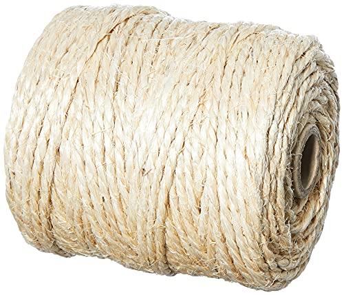 Agipa 13127Sisal di cordino in fibra naturale, Lunghezza: 150m