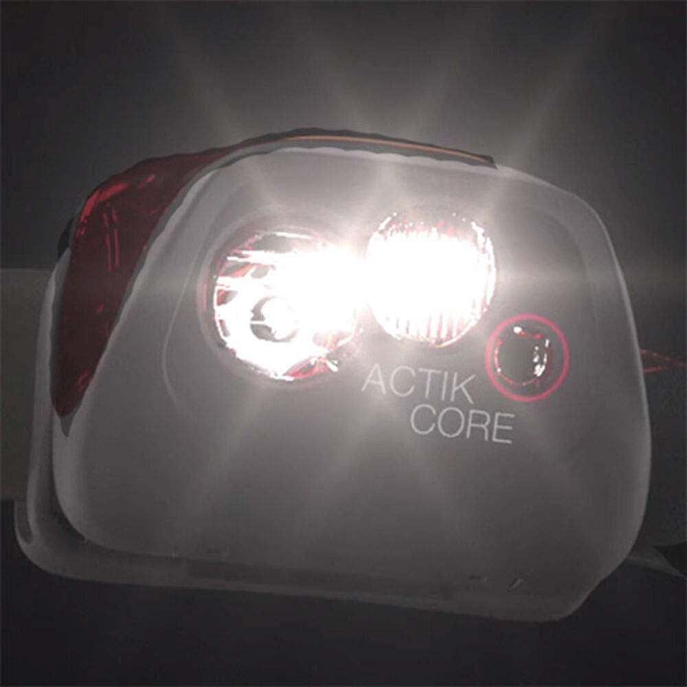 Petzl Lampe Frontale ACTIK Core Adulte-Mixte Noir Unique