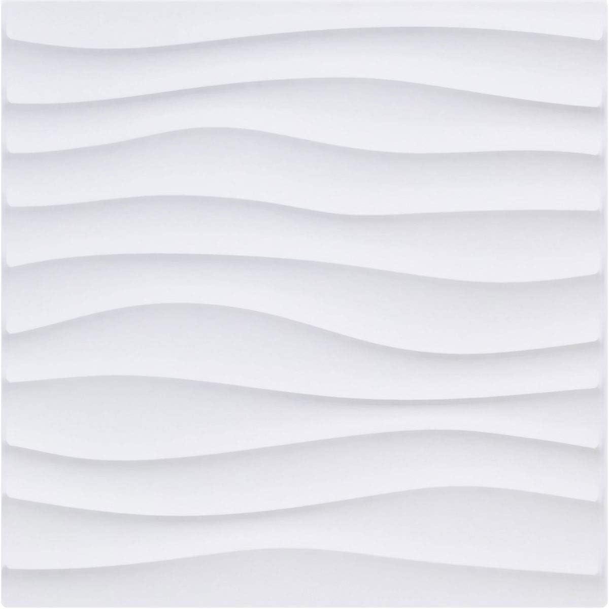 Ekena Millwork WP20X20SOWH-CASE-10 Online limited product Decorati EnduraWall Minneapolis Mall Shoreline