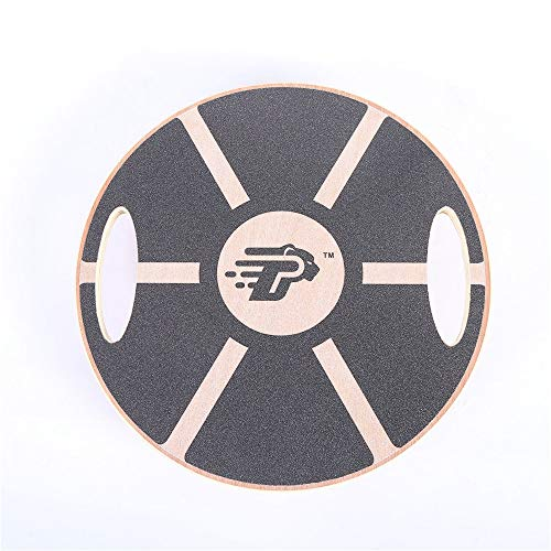 Lowest Prices! JIANGXIUQIN Balance Board Wooden Difficult Balance Board Grasping Balance Board Porta...