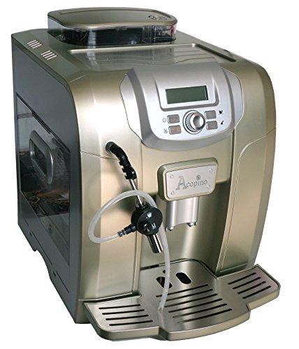 Acopino Ravenna Kaffeevollautomat und Espressomaschine, champagn