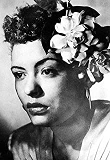 Billie Holiday Poster, Lady Day, Iconic Jazz Singer