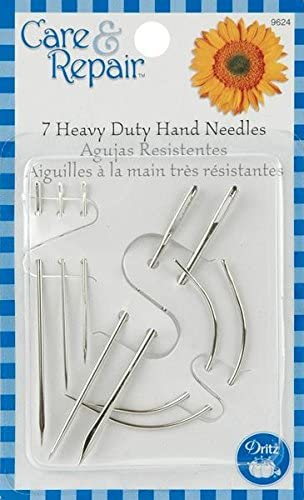 7-Pack Dritz 9624D Assorted Heavy Duty Hand Needles