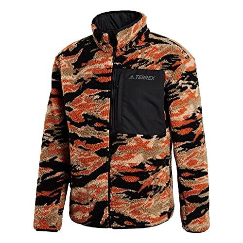 adidas Xplr Sherpa Chaqueta, Hombre, Negro, XX-Large