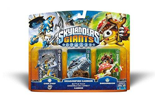 Skylanders: Giants - Pack Battle: Chop Chop + Shroomboom + Cannon Piece