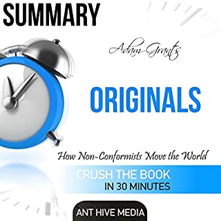 Adam Grant's Originals: How Non-Conformists Move the World Summary audiobook cover art