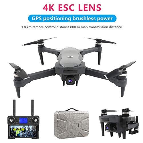 RC Quadcopter Drohne Mit 4k HD Aufnahme, 2.4GHz LF602 Quadcopter Mit 11.1v-1800 MAh Batterie, 25 Minuten Flugzeit, 4 Kanal Mobile APP Control RC Hubschrauber