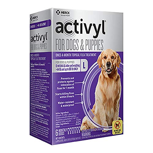 Activyl Large Dogs & Puppies 45-88lbs, 6-pack