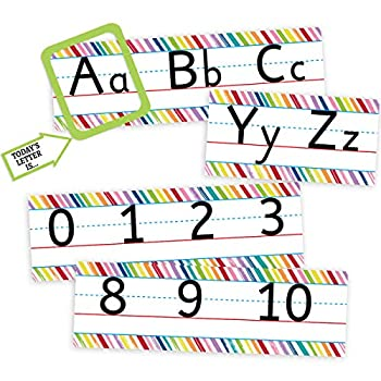 classroom alphabet wall letters