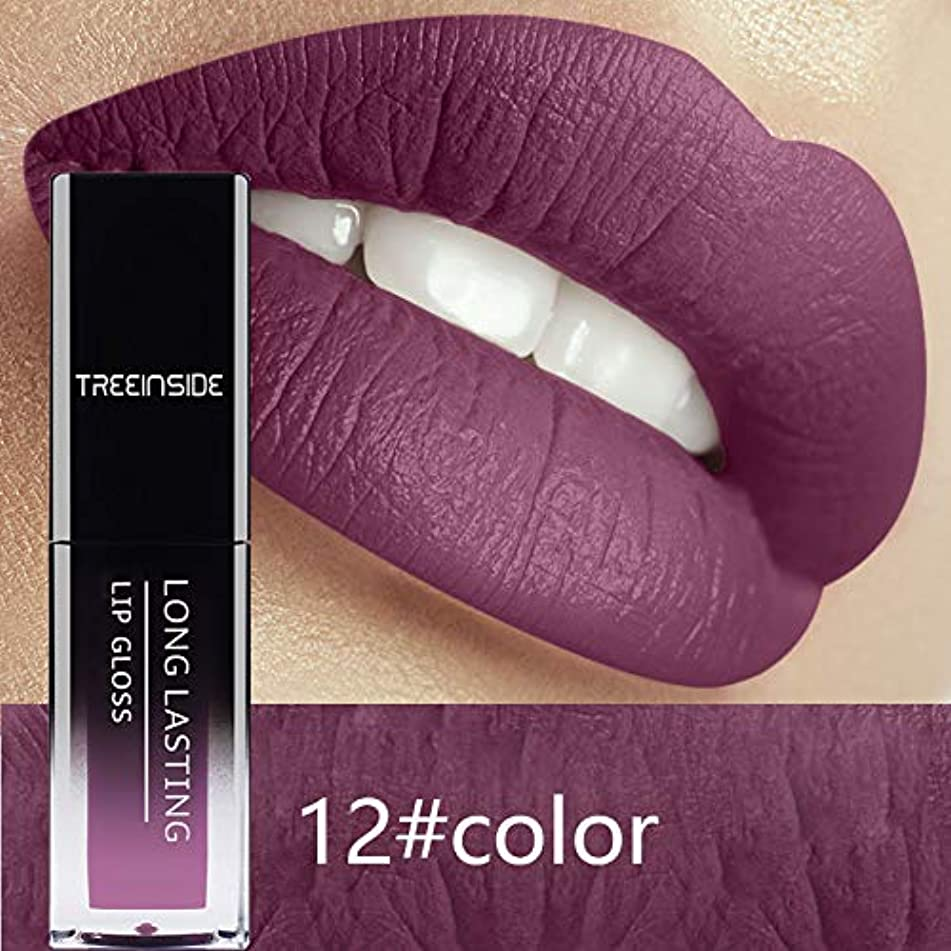 24 Color Liquid Lipstick Waterproof Makeup Long Lasting Mate Make Up Nude Lip Gloss Red Purple Blue Black Ultra Matte Lipstick 12