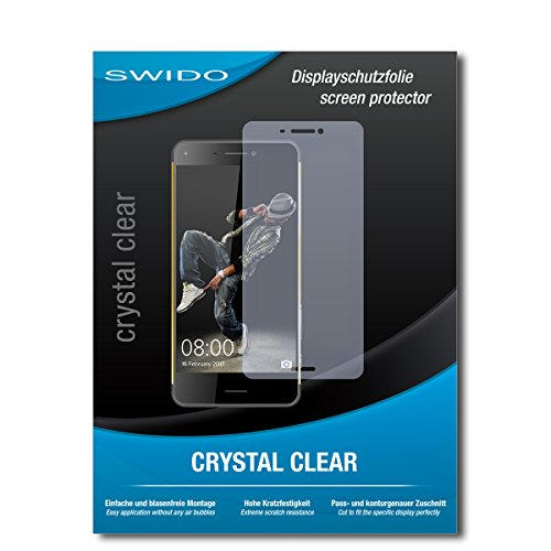 SWIDO Schutzfolie für Hisense C30 [2 Stück] Kristall-Klar, Hoher Festigkeitgrad, Schutz vor Öl, Staub & Kratzer/Glasfolie, Bildschirmschutz, Bildschirmschutzfolie, Panzerglas-Folie