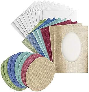 5 cartes lettres DFW marbre passe-partout cartes passeprtout Double cartes 200g//m²