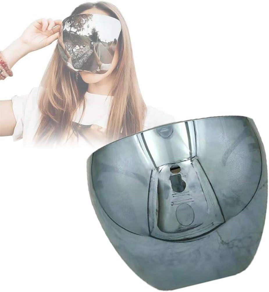 OADAA Gafas de Sol de Espejo Grandes polarizadas de Cara Completa de Gran tamaño Cubierta de Cara Grande Enorme, Pantalla Facial Protectora Multicolor Gafas de Visera de Cubierta Completa Gafas