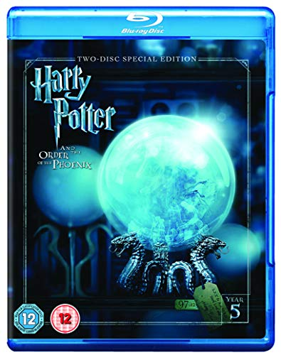 Harry Potter and the Order of the Phoenix [Year 5] [2016 Edition 2 Disk] [Blu-ray] [2007] [Region Free]