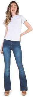 Calça Jeans Flare Stone