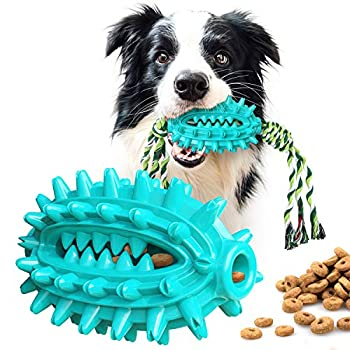 HESLAND Dog Chew Toys for Aggressive Chewers Large Breed Indestructible Tough Dog Toothbrush Stick Toy for Medium Large Dogs Dental Care Teeth Cleaning