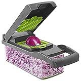 Banliku 12 in 1 Vegetable Chopper and Dicer, Food Chopper Vegetable Cutter Mandoline Slicer, Onion...