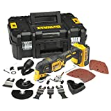 <span class='highlight'>Dewalt</span> DCS355M1-GB DCS355M1 <span class='highlight'>Oscillating</span> <span class='highlight'>Multi</span>-Tool 18V li-ion Cordless Brushless (1 x 4Ah Batteries) with 35 Accessories, 18 V
