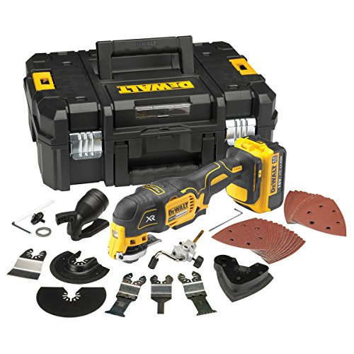 Dewalt DCS355M1 18v Li-Ion Cordless Brushless Oscillating Multitool