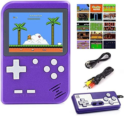Diswoe 500 in 1 Handheld Game Console Retro Mini Game Machine Support Play on TV and Two players product image