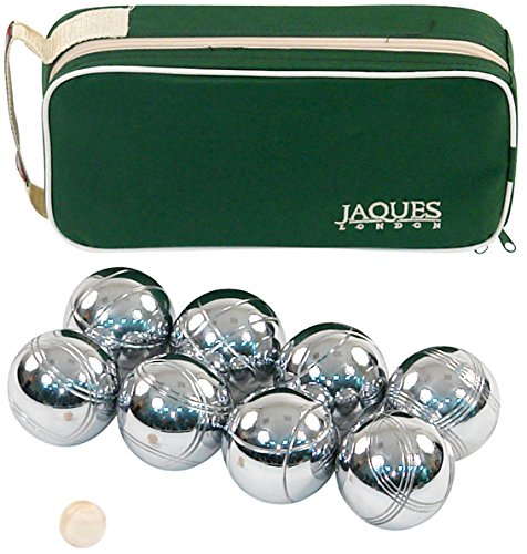Boules 8 Set 8 Boccia Boules Set im Zip Case - Rust-Z behandelt - Jaques von London
