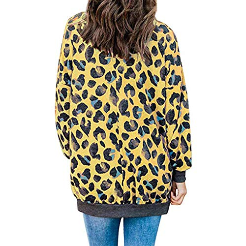 Goddesslili Sexy Leopard Sweatshirt Gorgeous Full 3D Print Long Sleeve Blouse Loose Fit Baggy Sweater Daily Outdoor Wear Novelty Tops Soft and Comfortable New Fashion Release