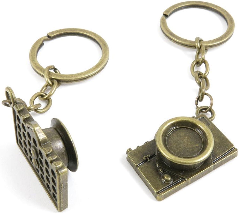 50 Pieces Fashion Jewelry Keyring Keychain Door Car Key Tag Ring Chain Supplier Supply Wholesale Bulk Lots O3SF6 Camera