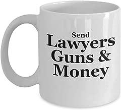 Warren Zevon Mug Send Lawyers Guns And Money