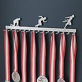 Medallero colgador de carreras (Running) - acero inoxidable