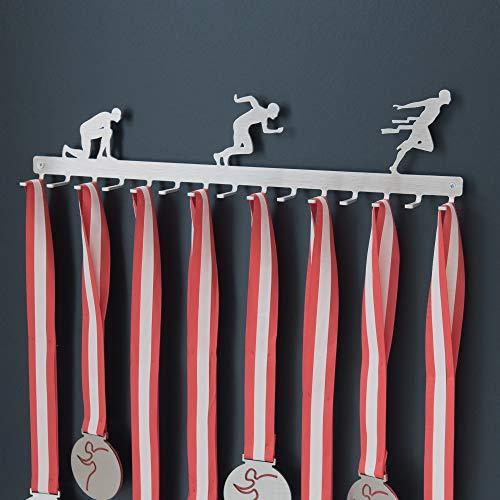 pequeño y compacto Colgante de medalla de carreras (corriendo) – Acero inoxidable
