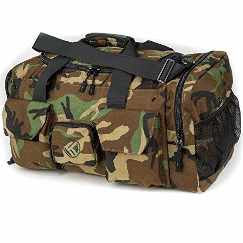 King Kong Original Nylon Gym Bag - Heavy Duty and Water-Resistant Duffle Bag - Military Spec Nylon-...
