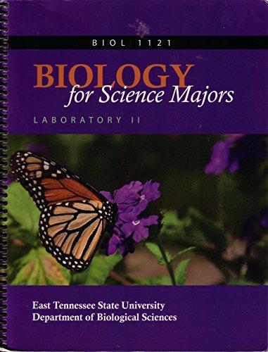 Biology 1121: Biology for Science Majors Laboratory II