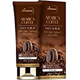 StBotanica Arabica Coffee Face Scrub 100g | With Coffee, Caffeine And Cocoa Butter | No SLS, Paraben