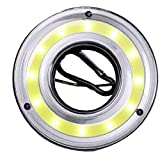 Odoukey Lámpara Que acampa lámpara de la Tienda de la lámpara de Camping Gancho de Linterna accionada lámpara Colgante LED portátil de la batería de la Linterna del Bulbo