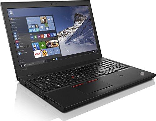 Lenovo ThinkPad T560 15,6 Zoll 1920×1080 Full HD Intel Core i5 256GB SSD Festplatte 8GB Speicher Windows 10 Pro Webcam inkl. Docking Business Notebook Laptop (Generalüberholt)