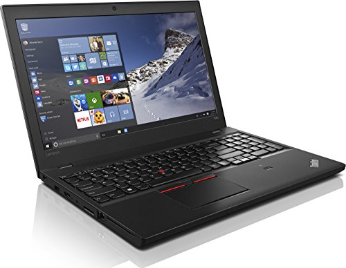 Lenovo ThinkPad T560 15,6 Zoll 1920×1080 Full HD Intel Core i5 256GB SSD Festplatte 8GB Speicher Windows 10 Pro UMTS LTE Tastaturbeleuchtung Webcam (Generalüberholt)