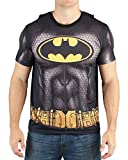 Bioworld Batman Men's Sublimated T-Shirt with Cape (Small) Blacks