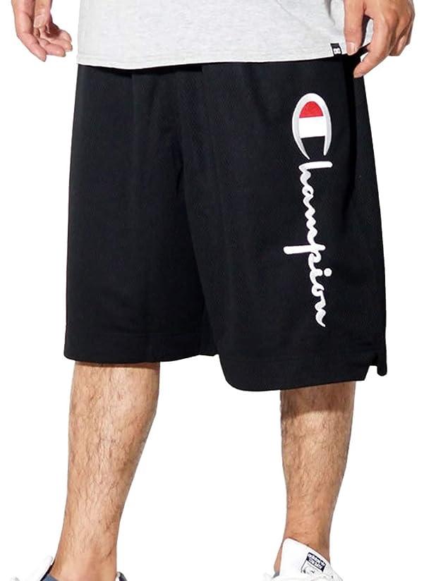 ルーチンホール会計士[チャンピオン] ハーフパンツ メンズ メッシュジャージ バスパン Champion ヨーロッパライン 大きいサイズ [並行輸入品]