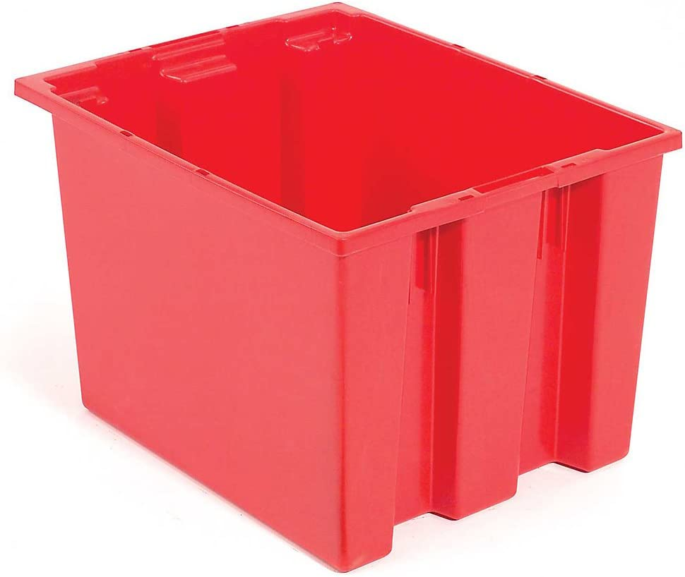 Stack And Nest Shipping Container No Red Excellence 2x15-1 - 23-1 2x12 Lid Outstanding