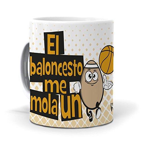 mundohuevo Taza El Baloncesto me Mola un Huevo